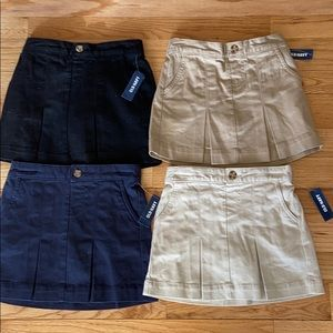 NWT Old Navy uniform skorts